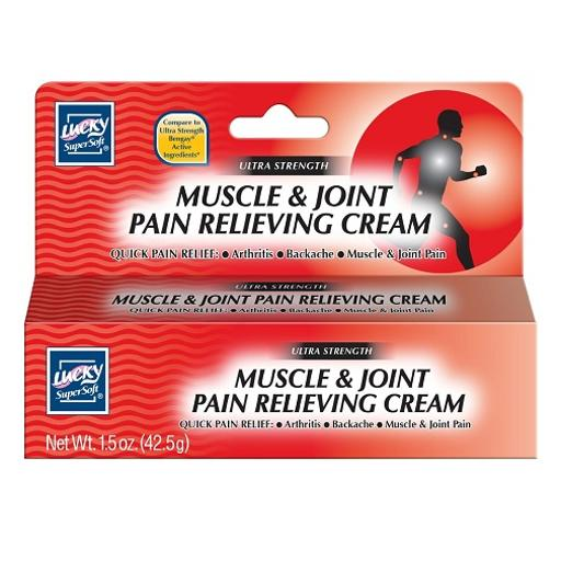 Lucky Muscle & Joint Pain Relieving Cream Ultra Strength