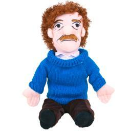 Kurt Vonnegut Little Thinker Plush Doll Author Slaughterhouse 5 Funny Gift