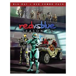 Red vs blue-season 13(blu ray/dvd combo) (ws/2discs) BRRT4921