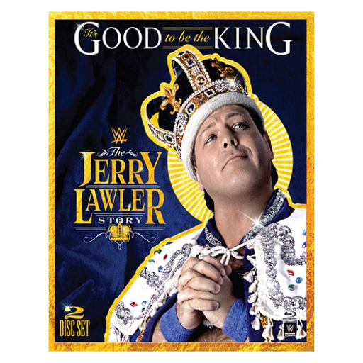 Wwe-its good to be the king-jerry lawler story (blu-ray/2 disc) 1285407