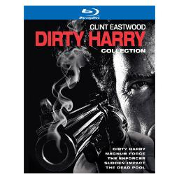 Dirty harry collection (blu-ray/5 disc/collectors ed) BR115693