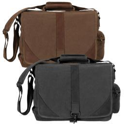 Rothco Vintage Urban Pioneer Laptop Bag with Leather Accents 9690