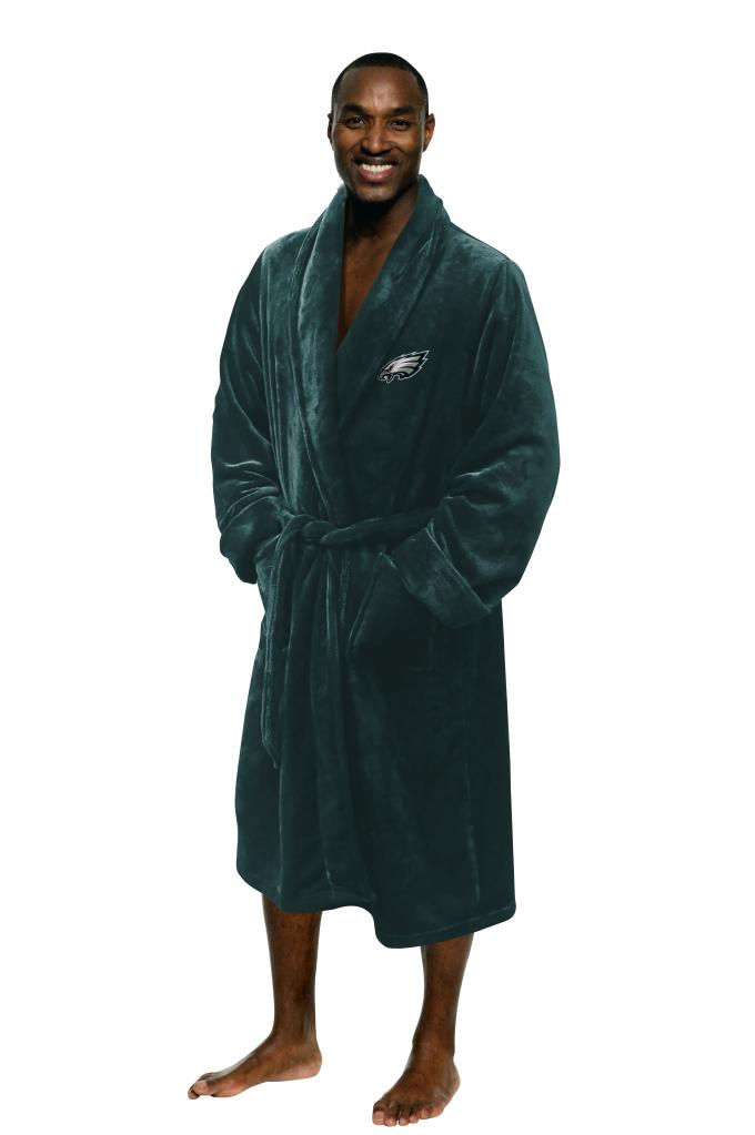 Philadelphia Eagles Bathrobe Size L/XL