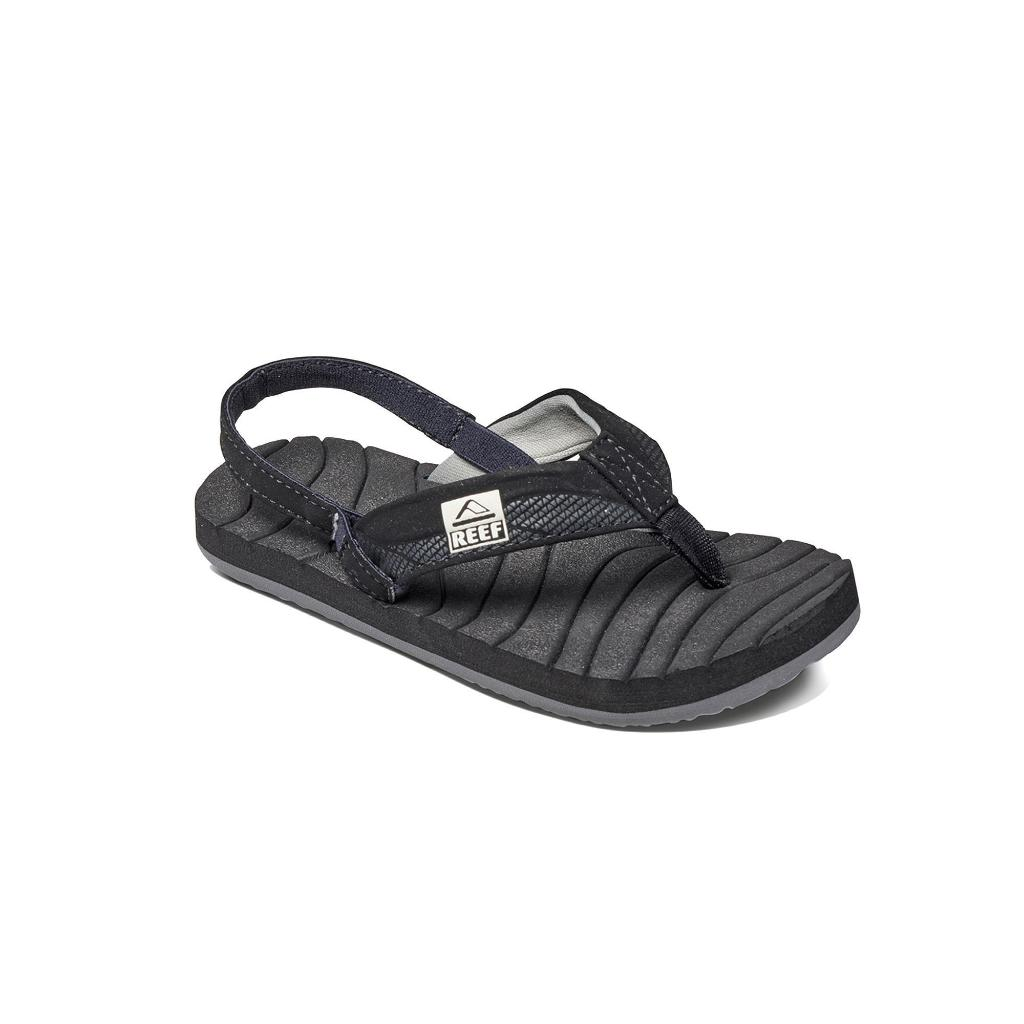 6bf33bec4d5f REEF Kids Reef Boys Grom Roundhouse Ankle Wrap Bungee Flip Flops ...