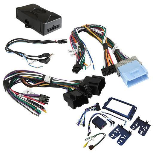 Crux Dkgm-51 Crux Radio Replacement W/Swc Retention For Gm Lan-11 Bit Vehicles (Dash Kit Included)