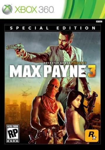 Max payne 3 special edition(2 disc)-nla 1287963