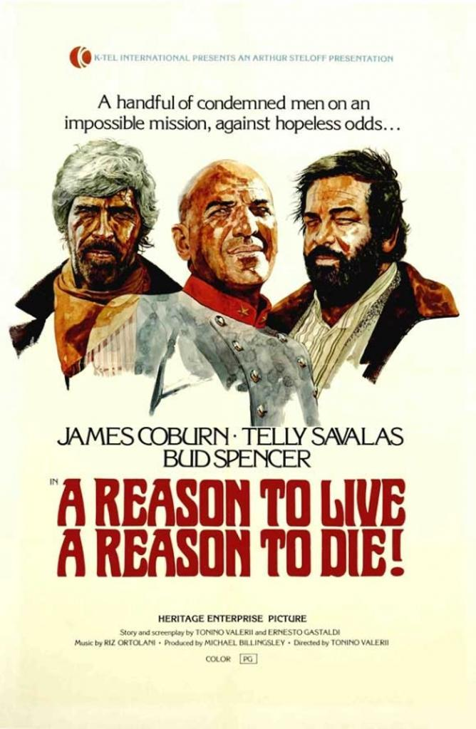 A Reason to Live, a Reason to Die Movie Poster (11 x 17)