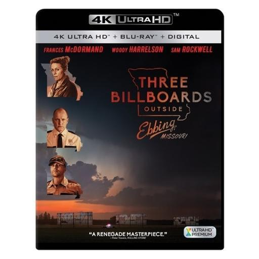Three billboards outside ebbing missouri (blu-ray/4k-uhd/digital hd) GBE5MPTAP0TL2EKF
