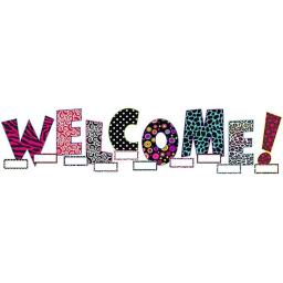 Teacher Created Resources 5144 WELCOME Bulletin Board Display Set