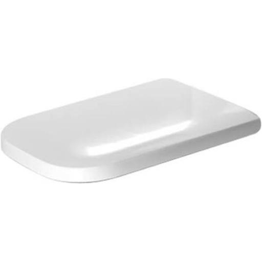 Duravit 0064690099 D2 Toilet Seat & Cover with Hinge, White