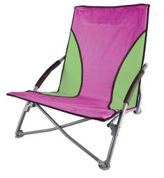 Stansport g-11-30 stansport low-profile fold-up chair - purple/green