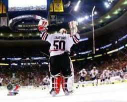 Corey Crawford Game 6 of the 2013 NHL Stanley Cup Finals Photo Print PFSAAQI16101
