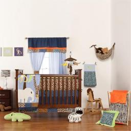 Jazzie Jungle Boy Crib Sheet