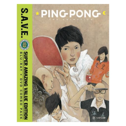 Ping pong-animation-complete series s.a.v.e (blu-ray/dvd combo/4 disc) XKVVHY6G4AAC40BU