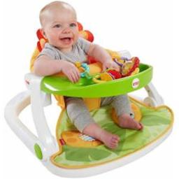 Fisher Price CBV48 Sit Me Up Floor Seat with Tray - Lion