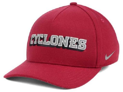 Iowa State Cyclones NCAA Nike Local Dri-Fit Swoosh Flex Fitted Hat