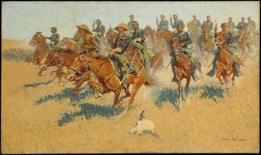 On the Southern Plains Poster Print by Frederic Remington (American, Canton, New York 1861-1909 Ridgefield, Connecticut) (18 x 24)