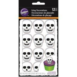 Royal Icing Decorations 12/Pkg-Skeleton W7107145