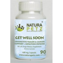 Natura Petz GRAV1 Get Well Soon - All Life Stages - 90 capsules - 400 mg per capsule