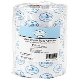 """Elizabeth Craft Clear Double-Sided Adhesive Tape 6""""X27yd"""