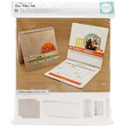 """Cinch Calendar Kit 12.5""""X13.25""""-Covers, Pages & Wire"""