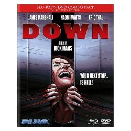 Down (aka the shaft) (blu ray/dvd) (eng & fren w/eng sdh/16x9/5.1dts-hd) BRBLU8016