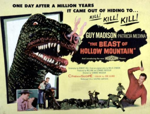 The Beast Of Hollow Mountain 1956. Movie Poster Masterprint HBCBYUCPKQWYHWIU