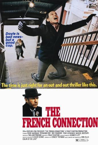 The French Connection Movie Poster Print (27 x 40) RGIMLXFMPRBQWQAX
