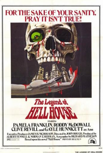 The Legend of Hell House Movie Poster Print (27 x 40) WPNBCY3KHAO9QPB2