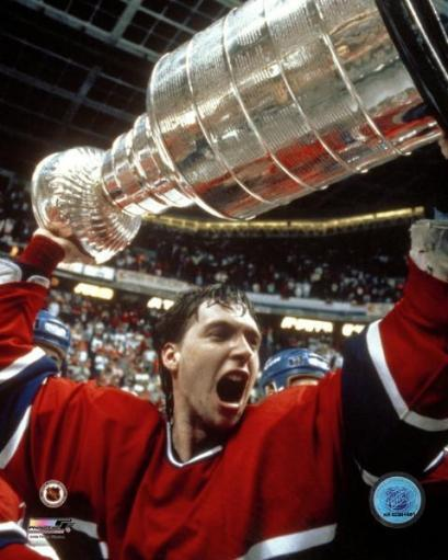 Patrick Roy with 1986 Stanley Cup Photo Print HDGLQNAZF9TA456H