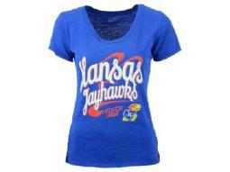 Kansas Jayhawks NCAA Blue 84 Top