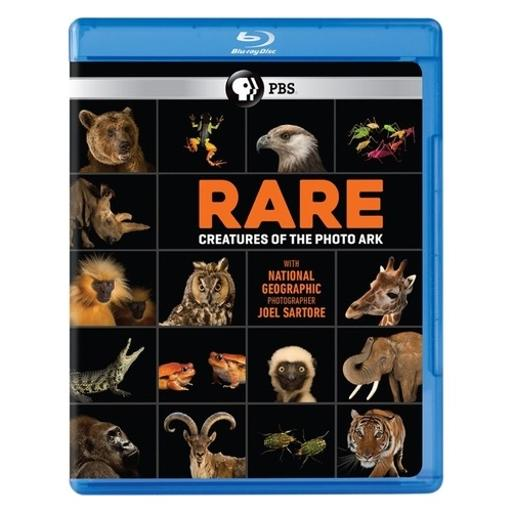 Rare-creatures of the photo ark (blu-ray) KLCOE15MFNBDWTBM