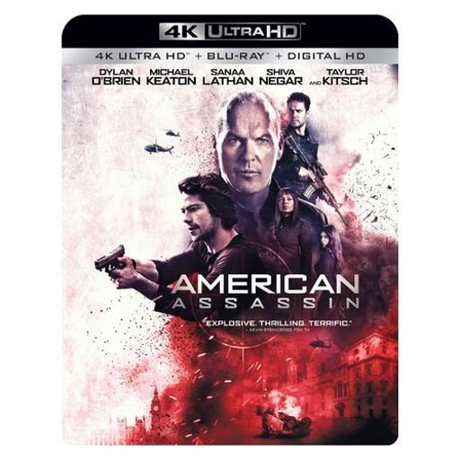American assassin (blu ray/4kuhd/ultraviolet/digital hd) DHBHCGQCIFFNKSD3