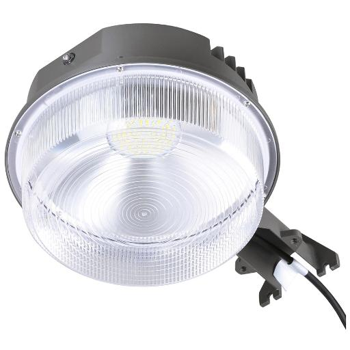 Yescom 70W LED Barn Light with Photocell 9100lm IP65 5000K ETL Dusk to Dawn Outdoor Security Wet Location Available