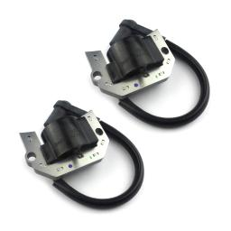 2 Pack of Kawasaki Ignition Coil Assembly for Mower Engines / FH381V-AS29, FH381V-AS30, FH381V-BS28, FH430V-AS34, FH430V-AS39, FH480V-BS20, FH480V-BS21 / KM-21171-7034, 21171-7037, 21171-7034