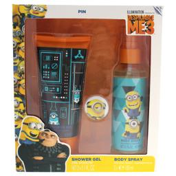Air-Val International Despicable Me 3 By Air-Val International For Kids - 2 Pc Gift Set 5.1Oz Body Spray, 5.1Oz Shower G