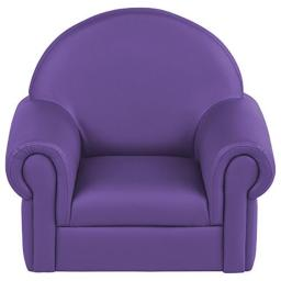 Early Childhood Resources ELR-15654-PU Soft Zone Little Lux Toddler Chair, Purple