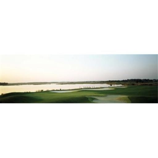 Panoramic Images PPI119066L Golf course at the coast Ocean City Golf & Yacht Club Ocean City Worcester County Maryland USA Poster Print by Panora