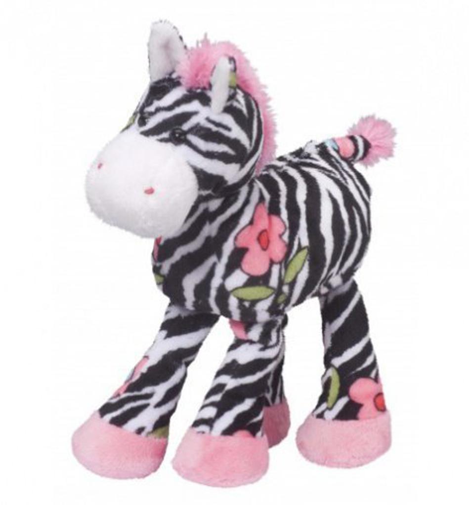 """Douglas Cuddle Toys Gabriella Flower Zebra, 10"""""""