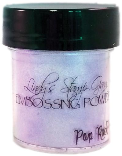 Lindy's Stamp Gang 2-Tone Embossing Powder .5oz-Pop Rock Purple 2HFBL9TYD3J0VMJC