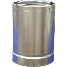 Airjet 6S3 6 in. x 3 ft. All Fuel Triple Wall Chimney Pipe