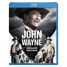 John wayne double feature (blu ray) (2discs) BR59189670