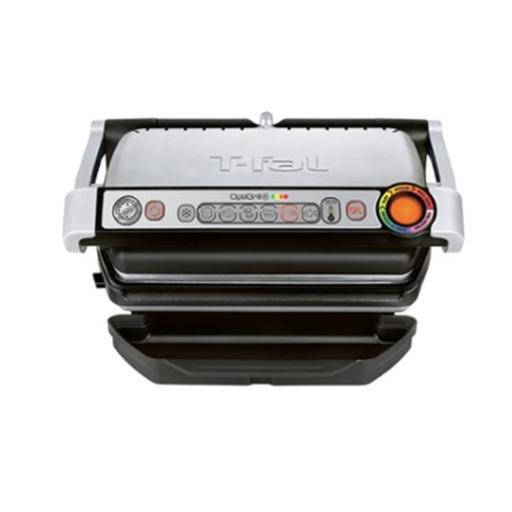 T-Fal GC712D54 OptiGrill Plus Stainless Steel Indoor Electric Grill