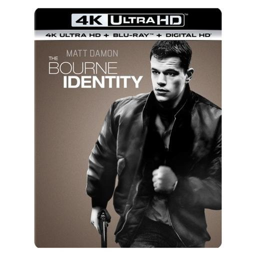 Bourne identity (blu-ray/4kuhd mastered/ultraviolet/digital hd) SQJ0EOFJWHTRMG5G