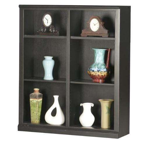 Eagle Furniture 72848NGSS 48 in. Coastal Tall Double Wide Coastal Bookcase, Summer Sage