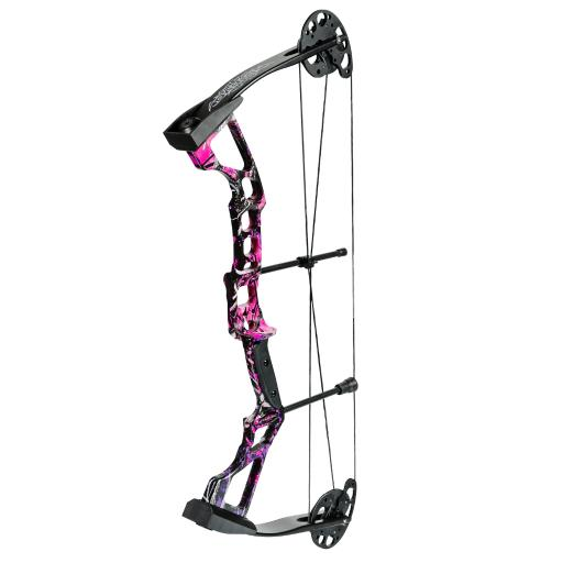 Darton 5d214m0304 darton recruit youth compound bow pkg muddy girl 25-30lb rh thumbnail
