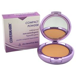 Covermark Compact Powder Waterproof - # 4 - Dry Sensitive Skin By Covermark For Women - 0.35 Oz Powder  0.35 Oz
