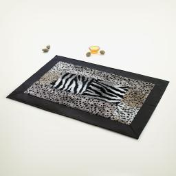 Onitiva - Gobi Desert & Darkness Patchwork Rugs (19.7 by 31.5 inches)