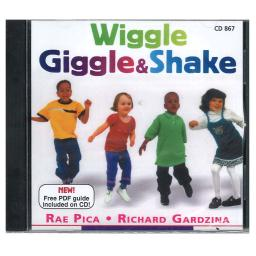 Educational activities wiggle giggle and shake cd867