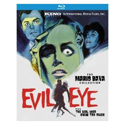 Evil eye (blu-ray/featuring the girl who knew too much/1963/b&w/ws 1.78) BRK1720